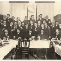 Altherrenkneipe, 1909.